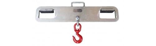 Hakenaufhängungen für Gabelstapler